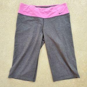 Nike women's dri-fit athletic capris pants